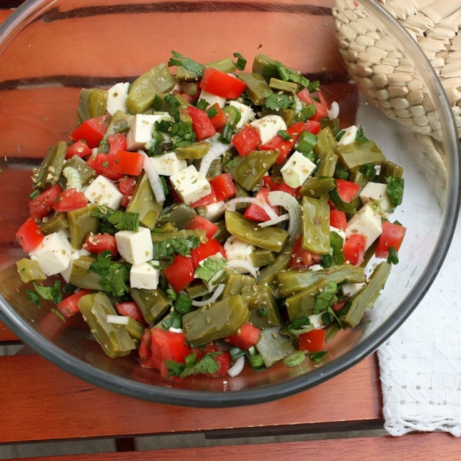Cactus Salad Recipe